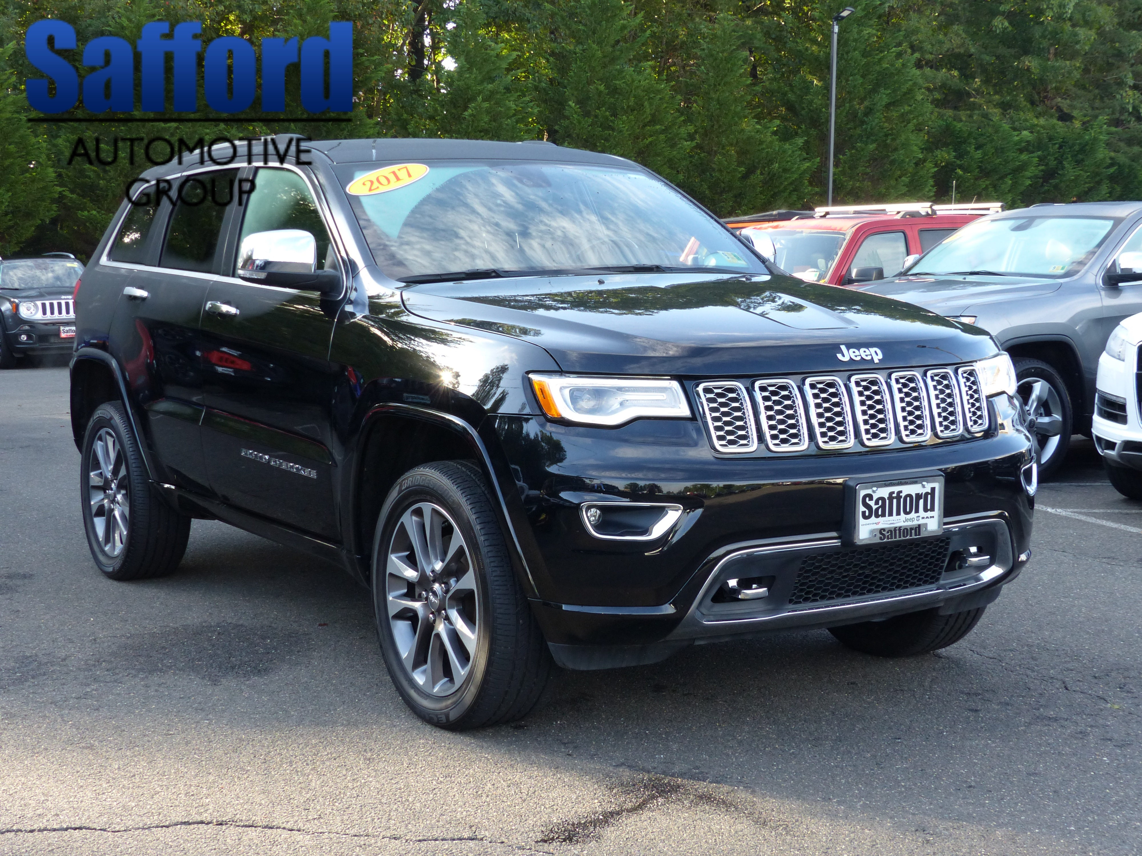 Certified Pre Owned 2017 Jeep Grand Cherokee Overland