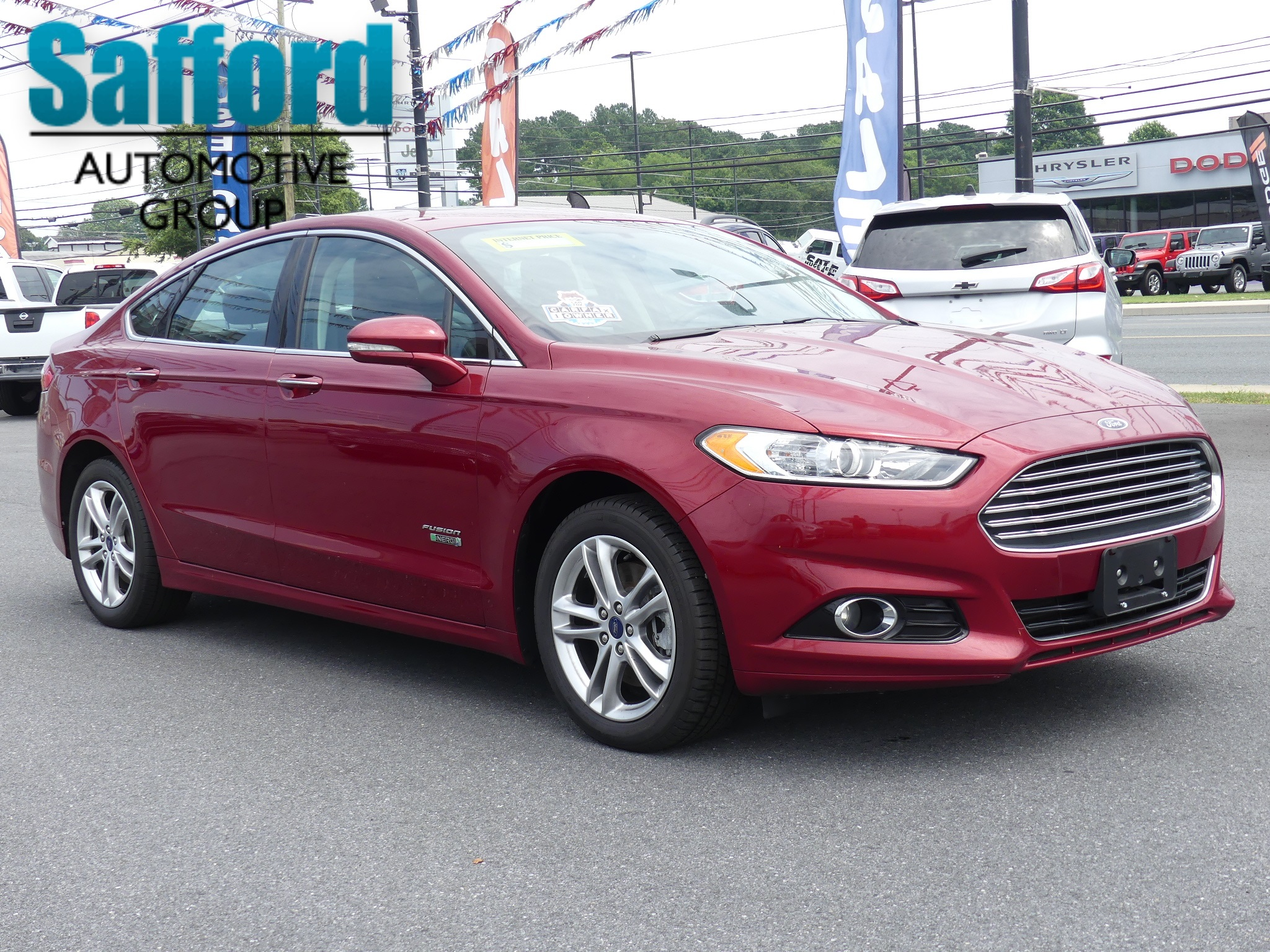 Ford Fusion: Towing the vehicle on four wheels